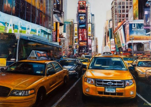 'Big Yellow Taxis' New York