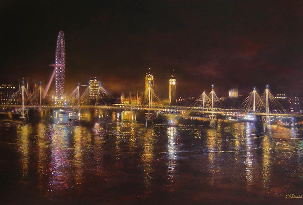 Light on the Thames