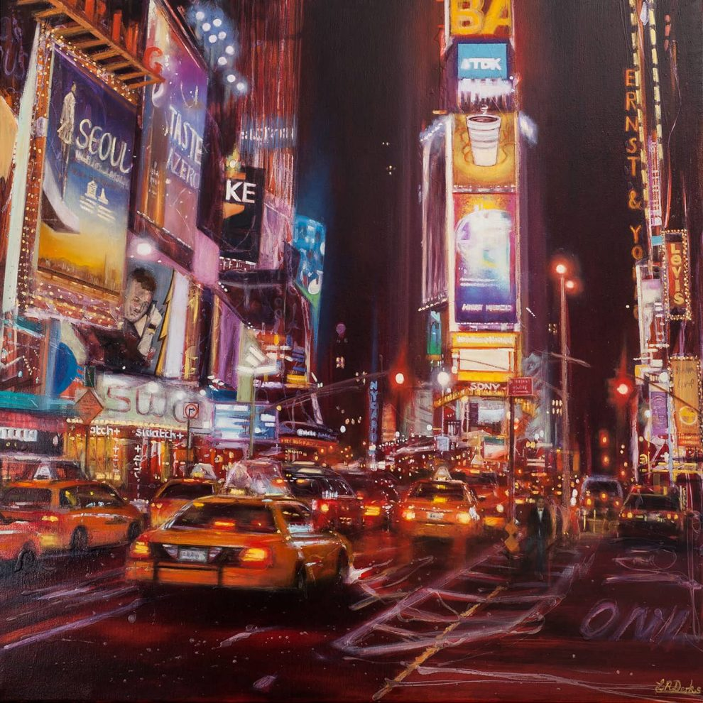 The Lights of the Big Apple