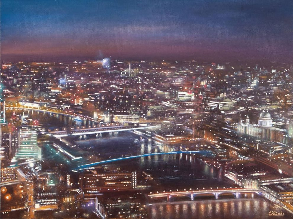 View of St Pauls from the Shard