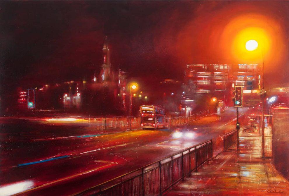 Waverley Bridge - Night